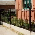 Zaunsäulen & Zaun