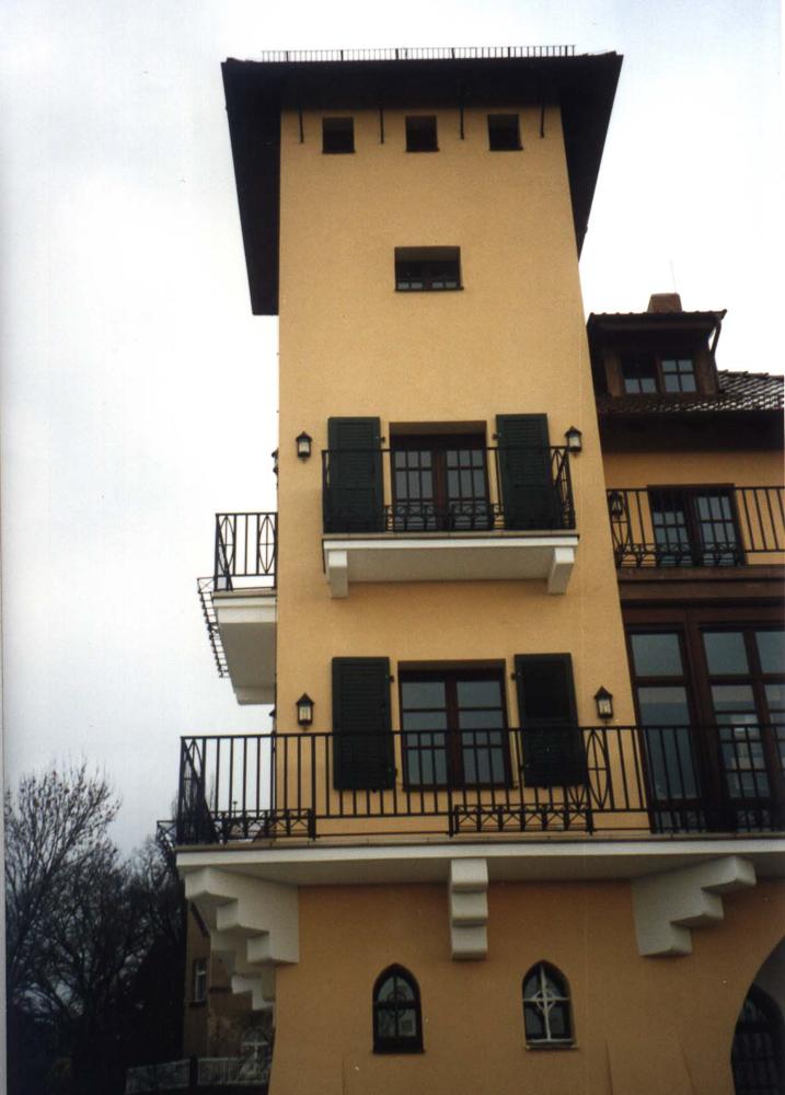 Balkongeländer Villa Ruffani