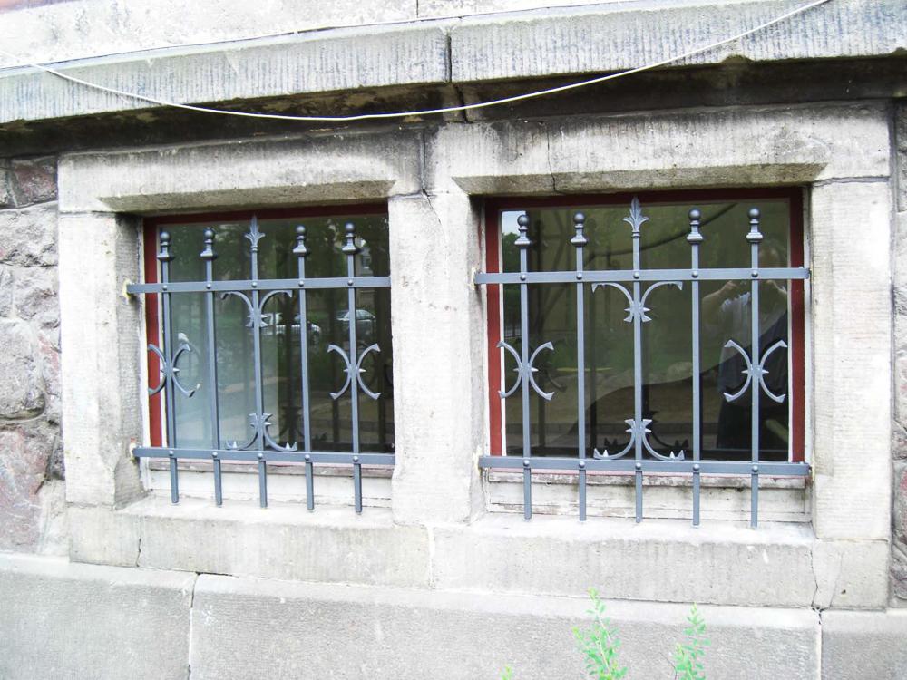 Fenstergitter Schule
