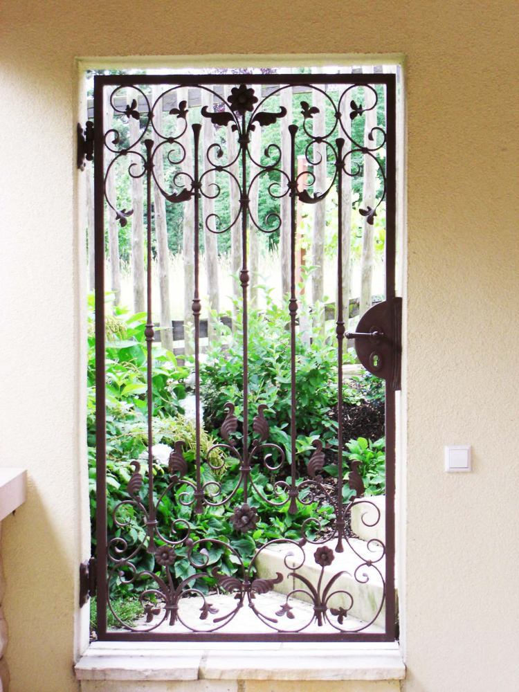 Gartentür geschmiedet
