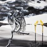 Seeadler am Natronsee groß