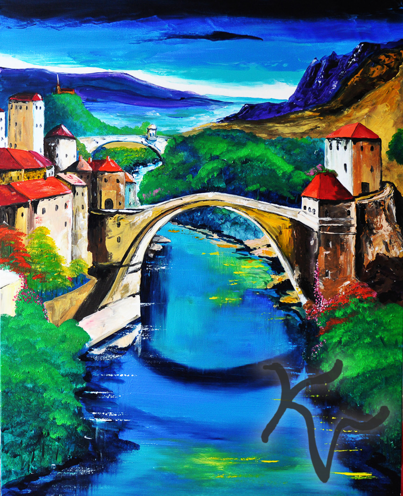 Zwei Brücken Toscana