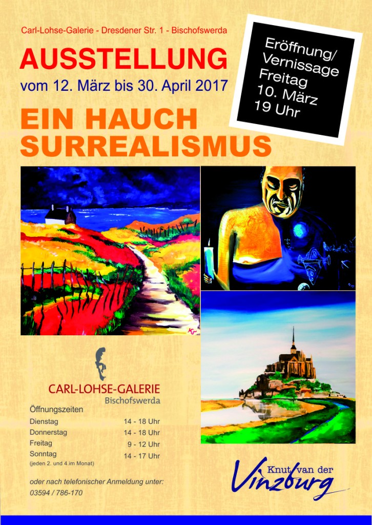 """Ausstellung """"Ein Hauch Surrealismus"""""""