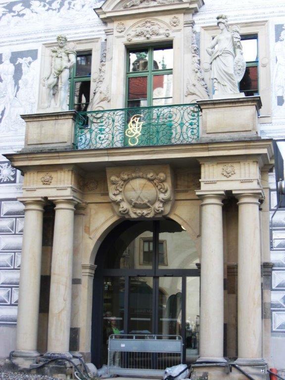 Starke Portal Dresdener Schloß